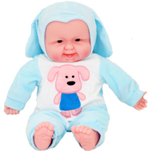 16INCHES SOFT LAUGHING SOUND BABY DOLL - JX-267-2